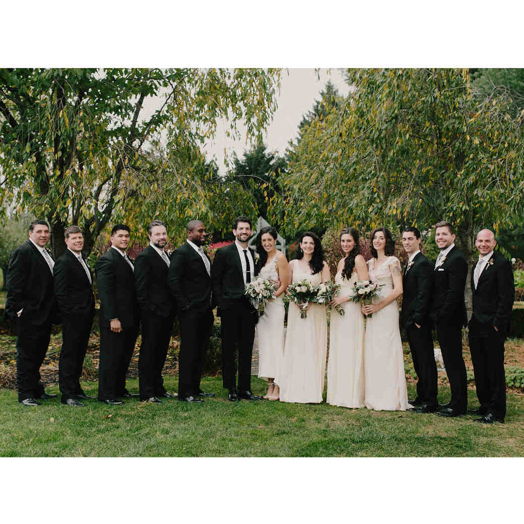 This Upstate New York Wedding Was Finished Off with a Foosball Table