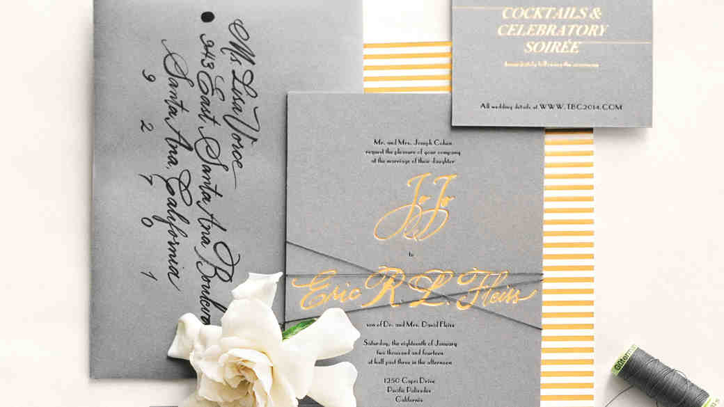 11 Unexpected Winter Wedding Invitations
