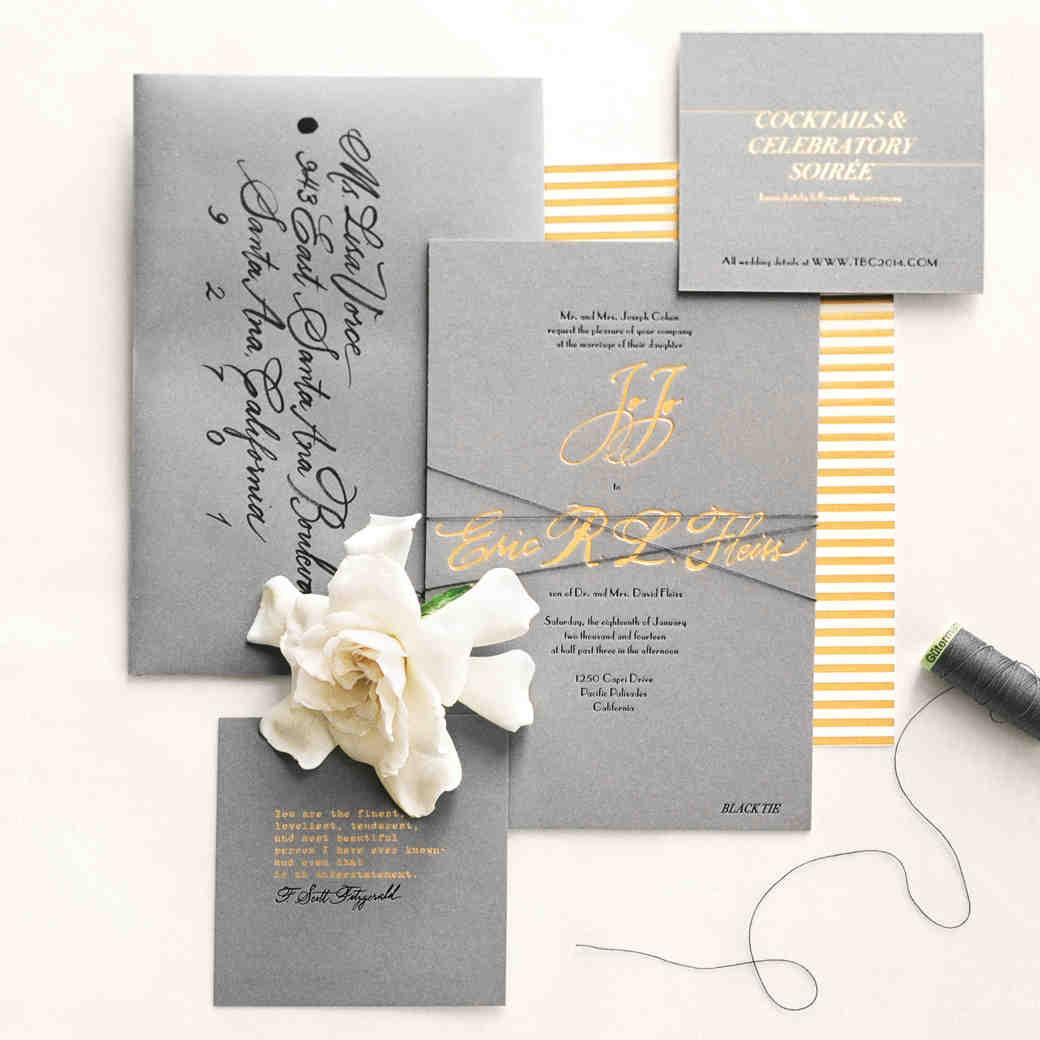11 Unexpected Winter Wedding Invitations