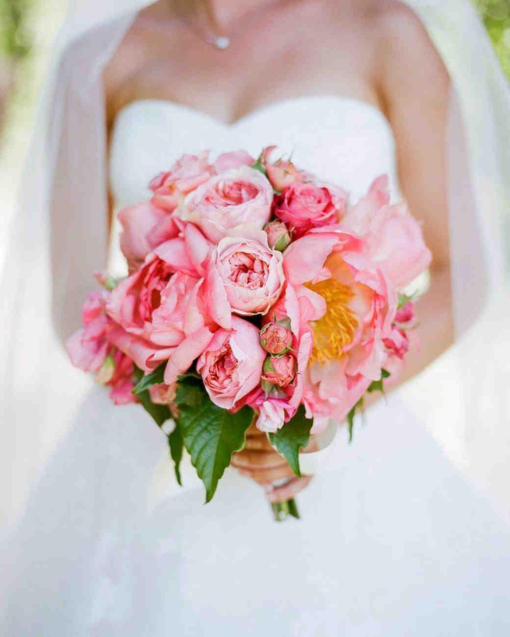 summer wedding detail shannon leahy bouquet