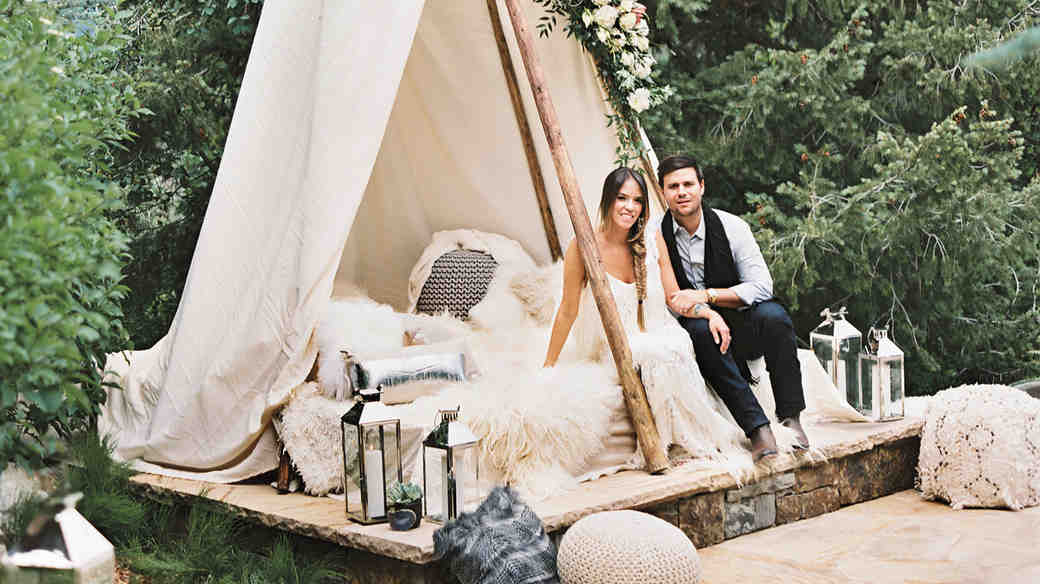 This Welcome Party Will Give You Major Boho Wedding Inspiration