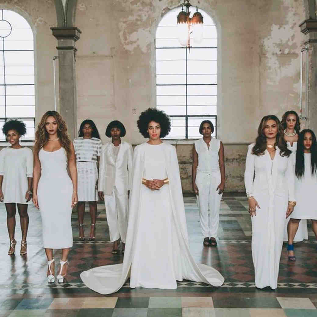 "Beyoncé Says Solange Has ""The Dopest Wedding Photo of All Time"""