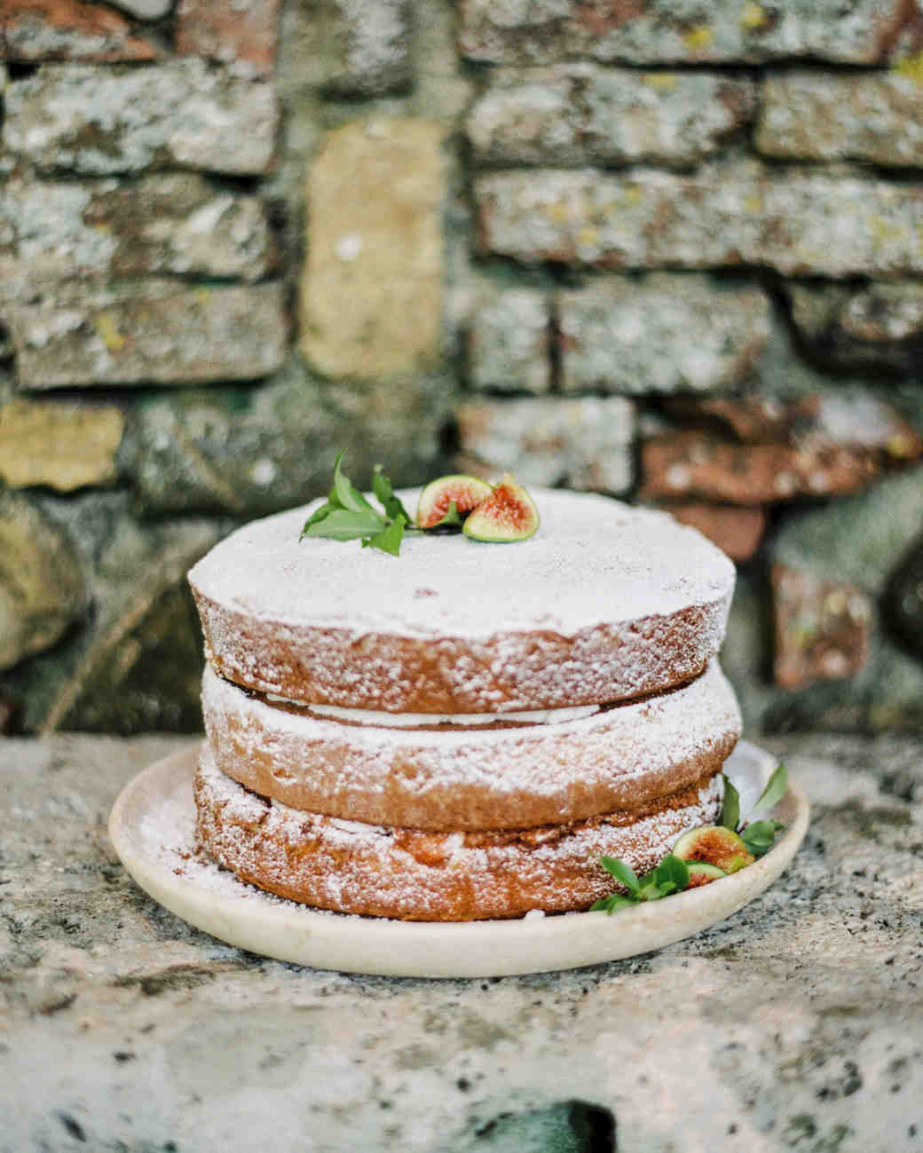 Sugar and Fig Wedding Cake