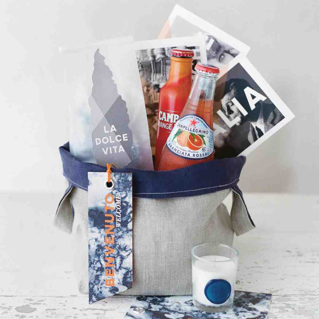 Impress Your Wedding Guests with a Welcome Bag Packed with These Items
