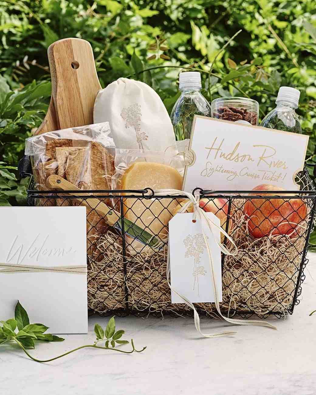 Wedding Gift Box Hire : 80 Welcome Bags from Real Weddings Martha Stewart Weddings