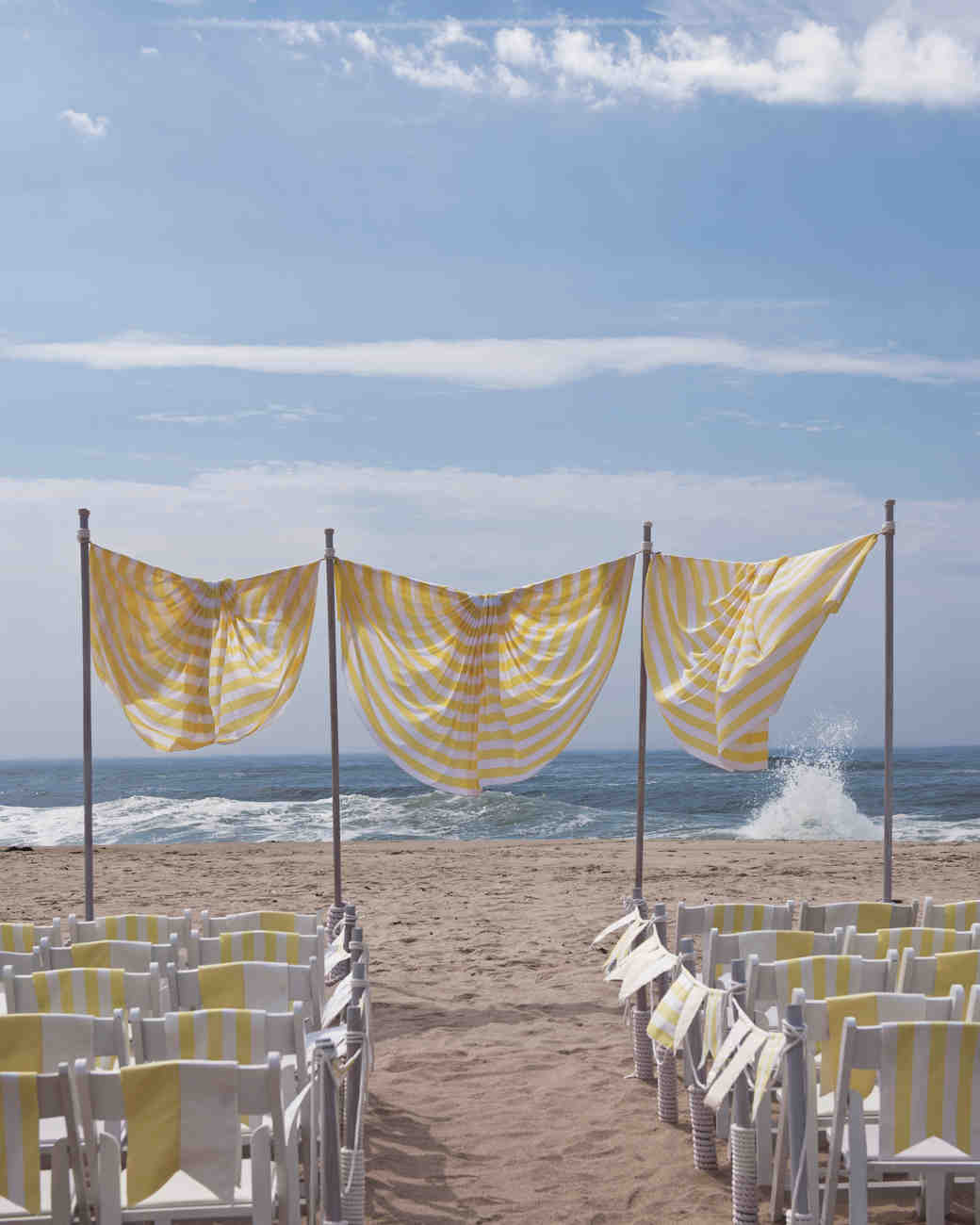 36 Breezy Beach Inspired Diy Home Decorating Ideas: Outdoor Wedding Decorations That Are Easy To DIY