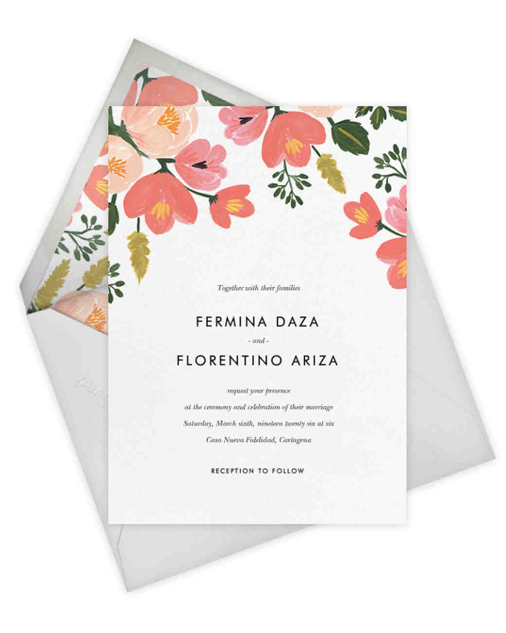 S New Paperless Post Collection! | Martha Stewart Weddings
