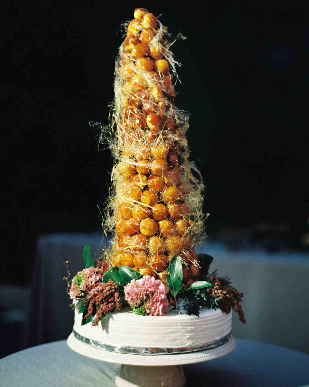 samantha michael wedding croquem bouche