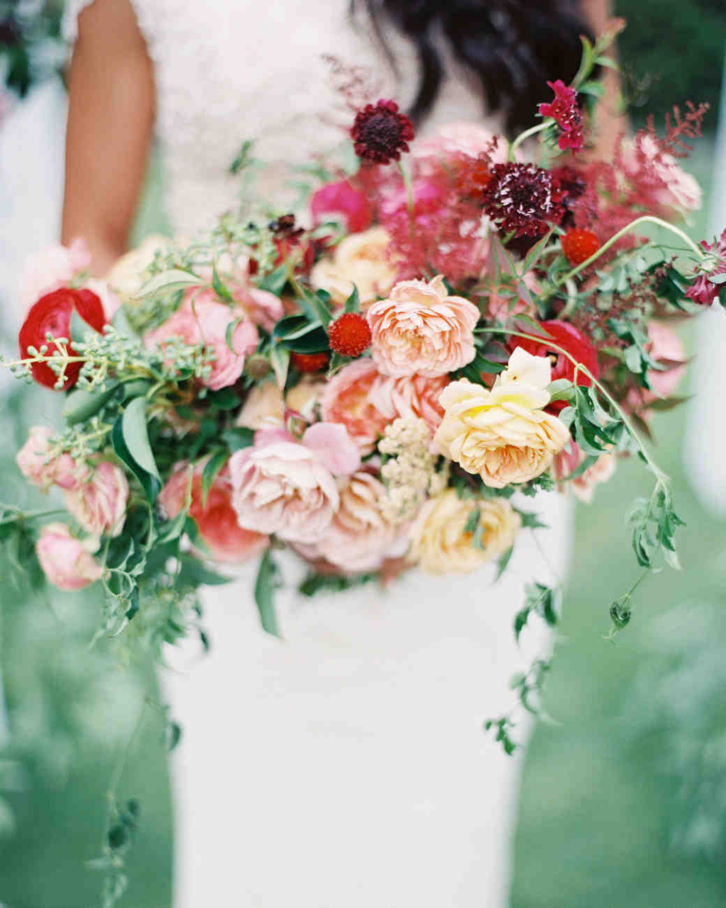 Wedding Bouquets: 40 Chic Cascading Wedding Bouquets