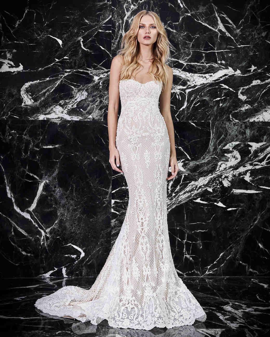victoria kyriakides strapless wedding dress spring 2018