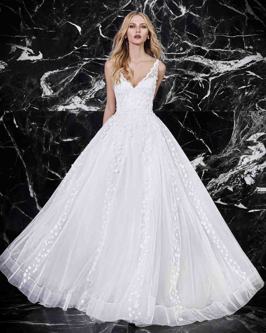 victoria kyriakides a-line wedding dress spring 2018
