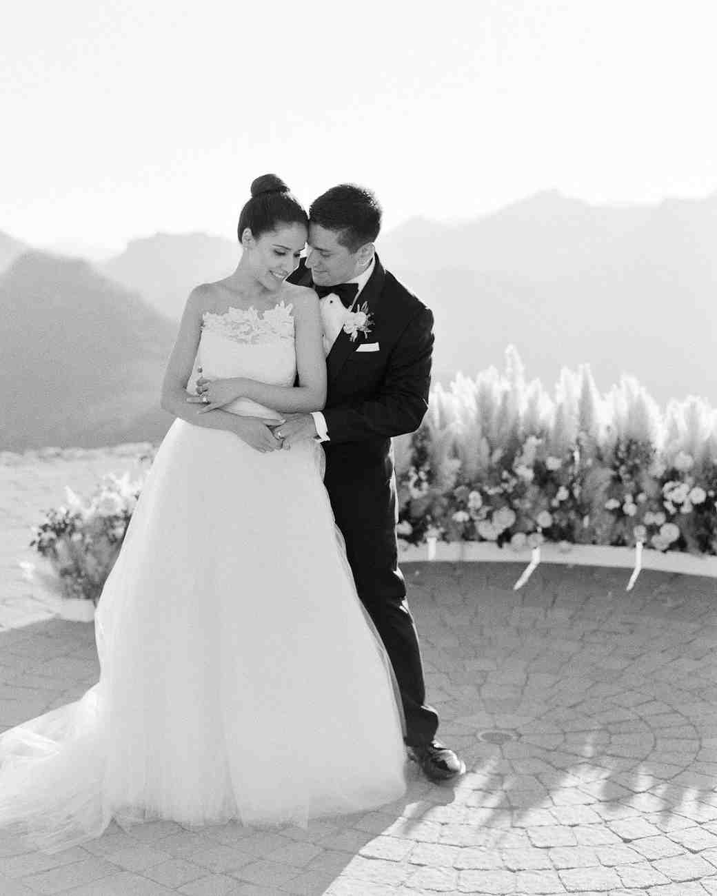 aislinn and eric wedding portrait
