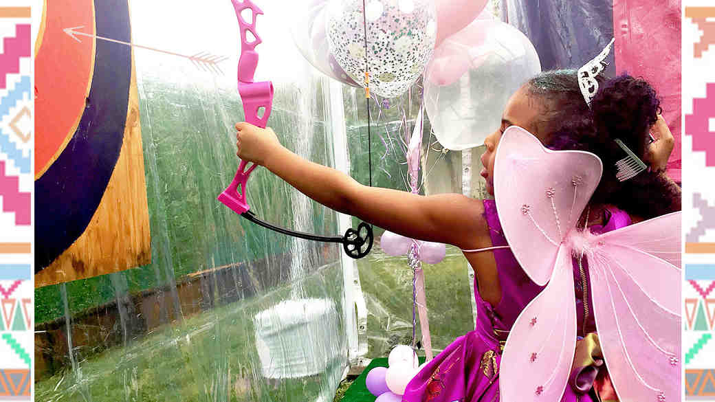 Blue Ivy's Birthday Party Is Giving Us Serious Bridal Shower Inspo