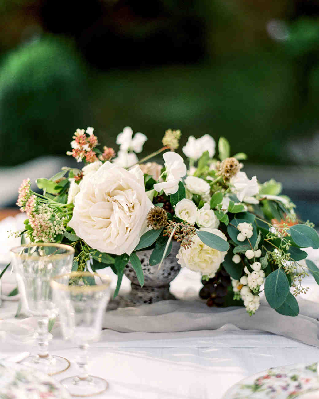Flower Centerpiece : Floral wedding centerpieces martha stewart weddings