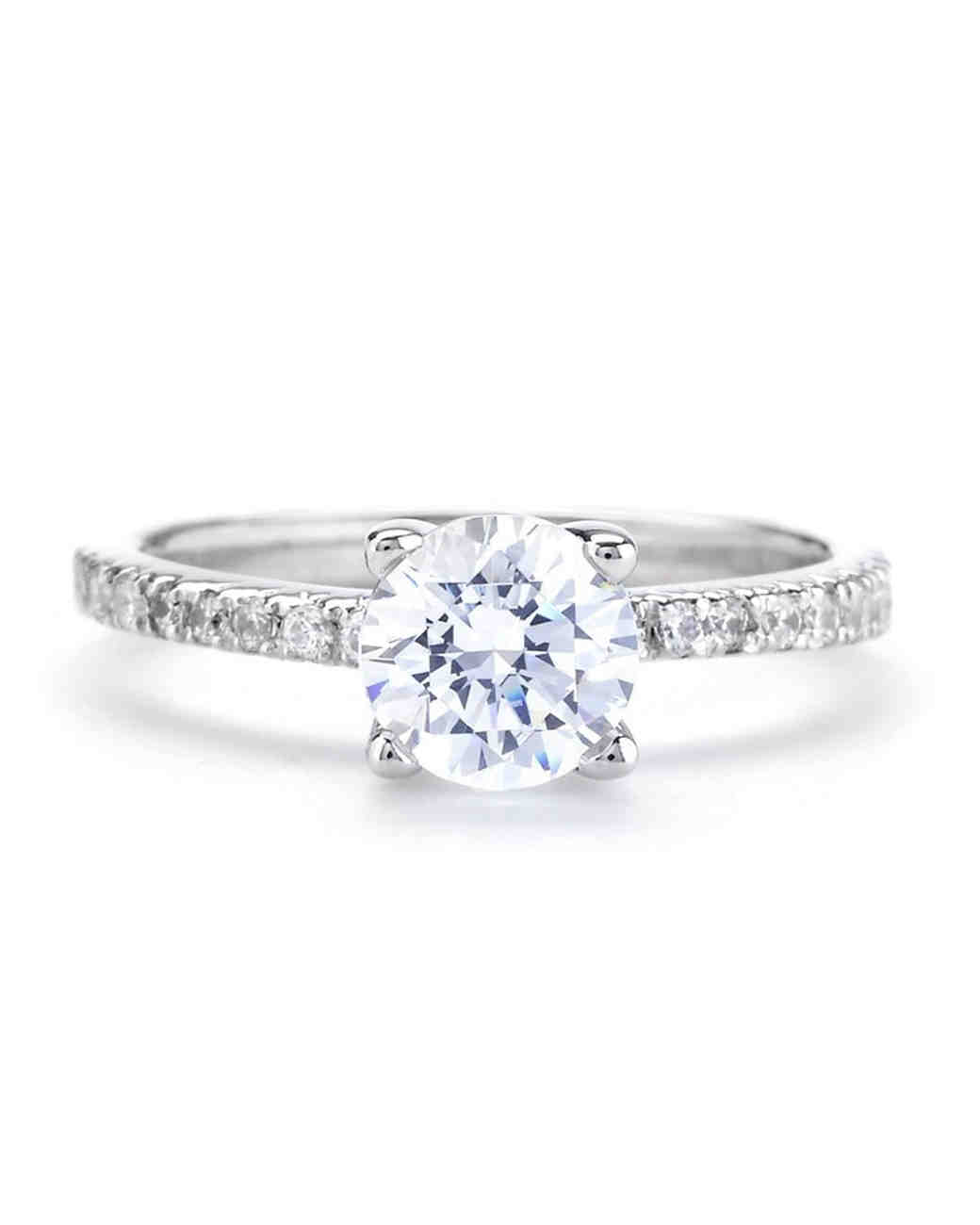 Mark Schneider White Gold Engagement Ring
