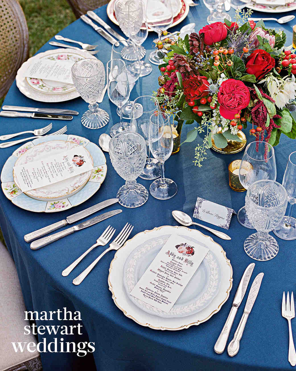 abby elliott bill kennedy wedding table