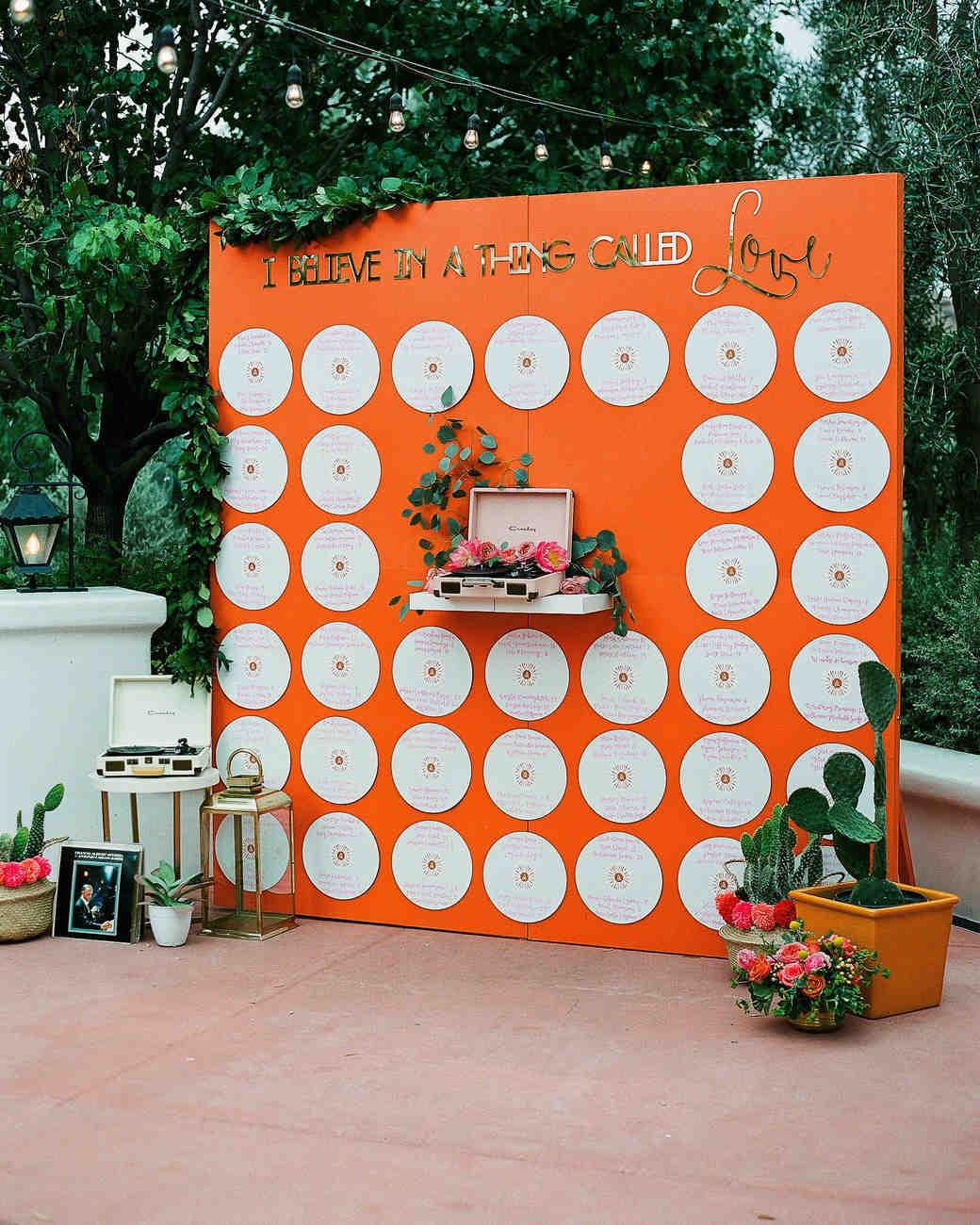 aubrey austin wedding seating chart