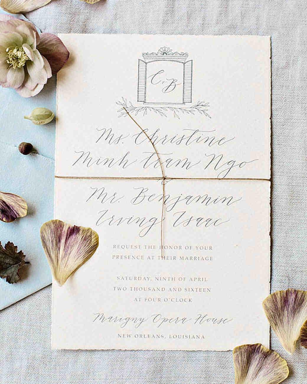 louisiana invitation
