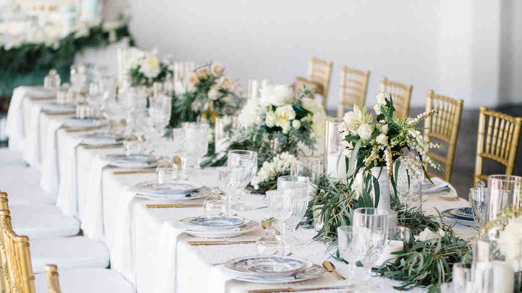 engagement tablescape