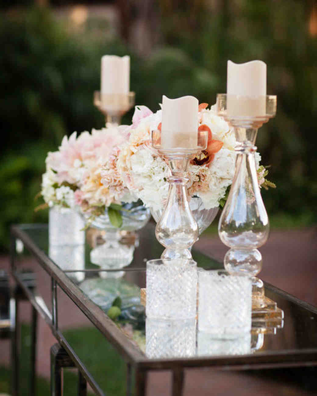 Ombré Wedding Decorations