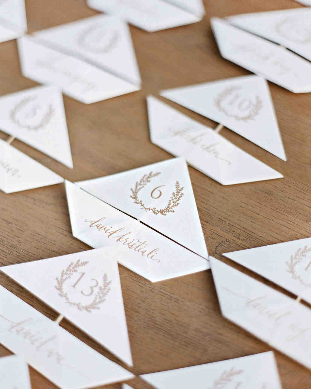 Sailboat Escort Cards