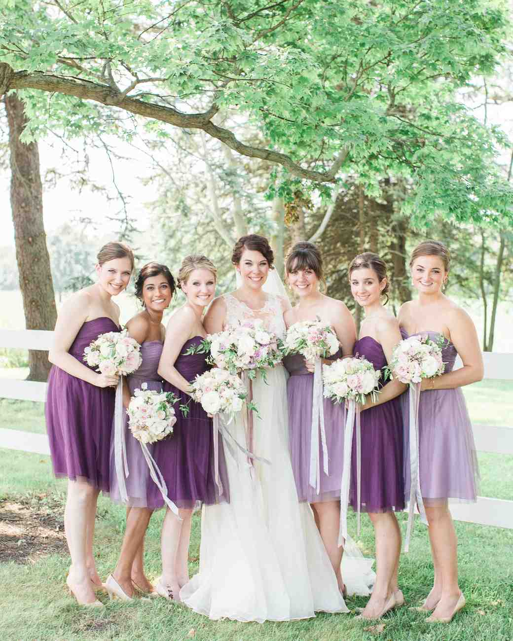 Different purple bridesmaid dresses fashion dresses different purple bridesmaid dresses ombrellifo Image collections