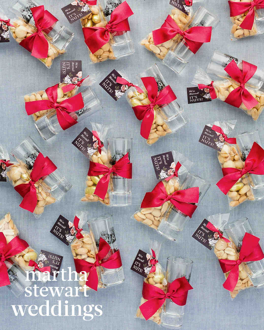 abby elliott bill kennedy wedding favors