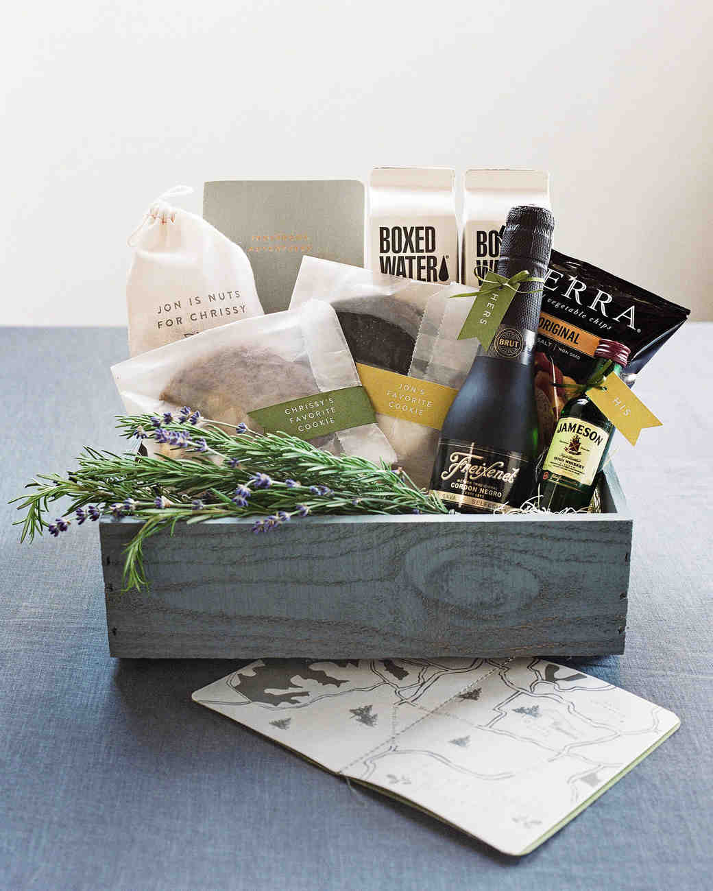 Gift Ideas Real Log Style: 80 Welcome Bags From Real Weddings