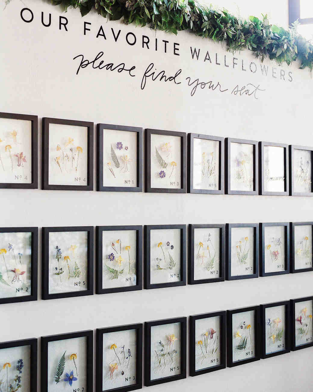 Insanely Creative Seating Cards and Displays Martha Stewart Weddings