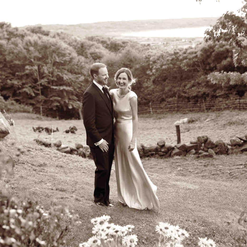 Genevieve and Scott's Bucolic Wedding Getaway