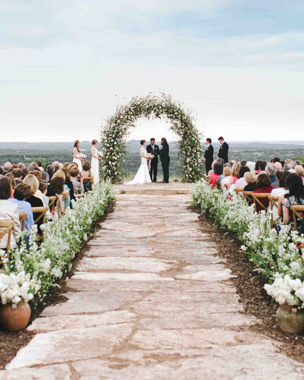 Blooming Branch Wedding Arch
