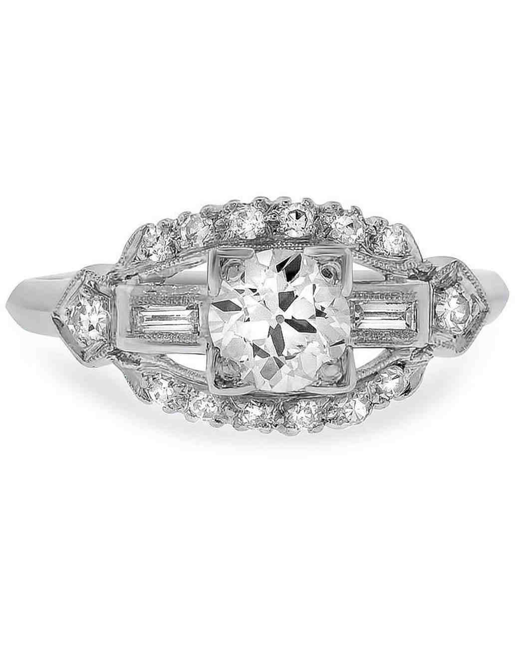 "Brilliant Earth vintage-inspired ""Rona"" engagement ring"