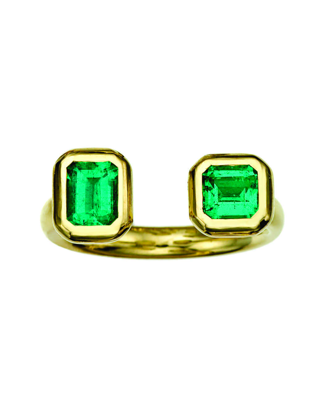 Jemma Wynne Emerald Engagement Ring