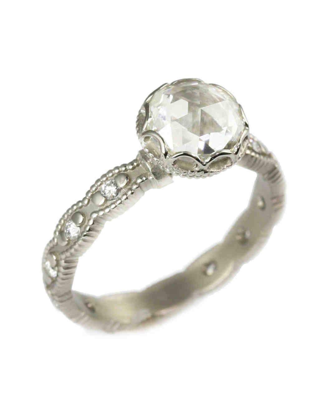 Megan Thorne White Gold Engagement Ring