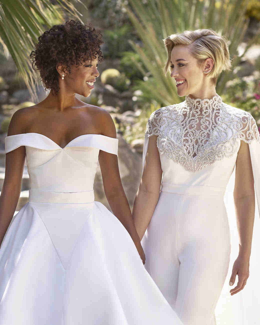 Samira Wiley and Lauren Morelli Married Palm Springs Wedding