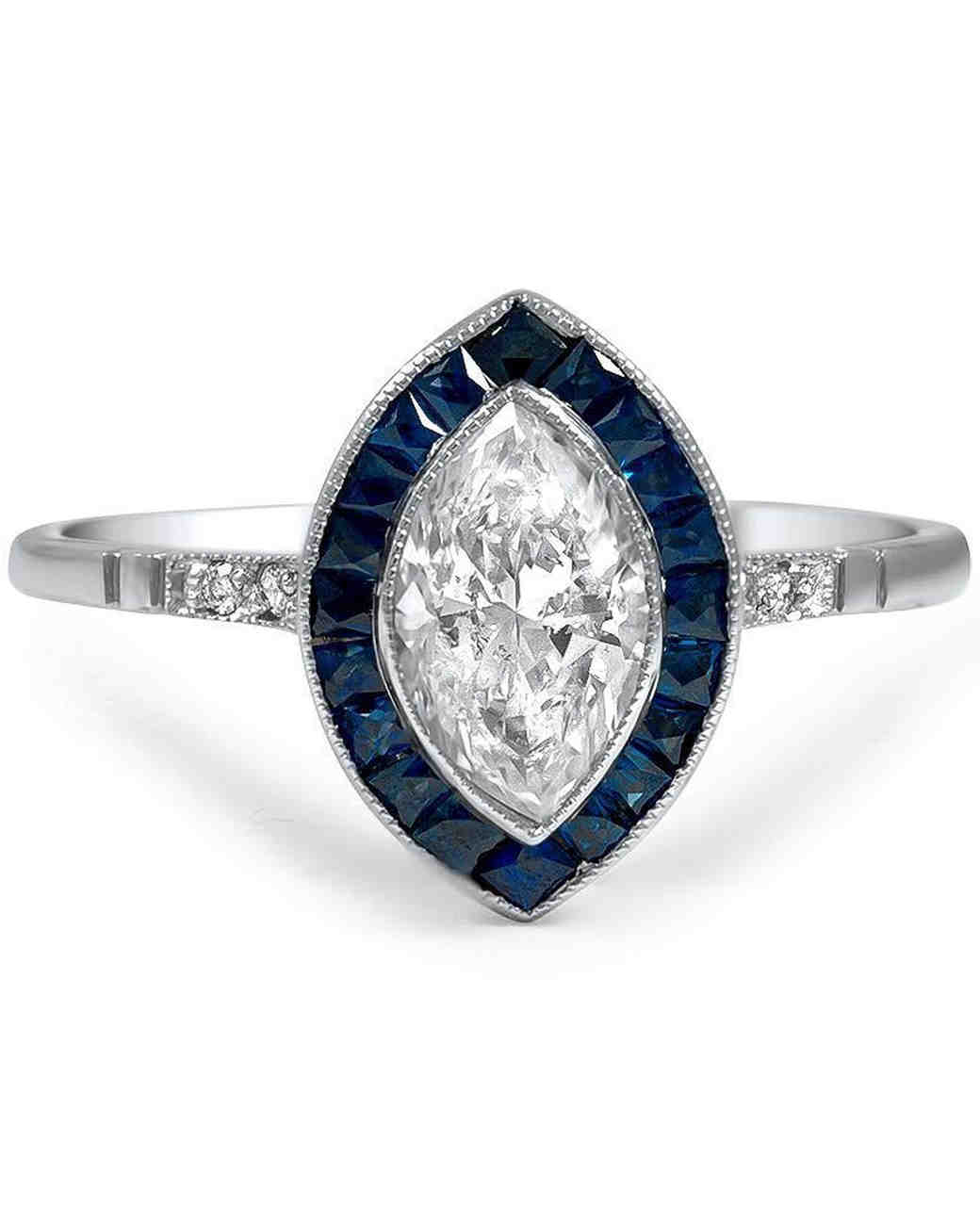 "Brilliant Earth vintage-inspired ""Rickie"" engagement ring"