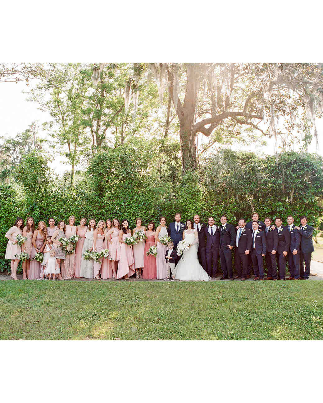 giordana and geoffrey wedding party