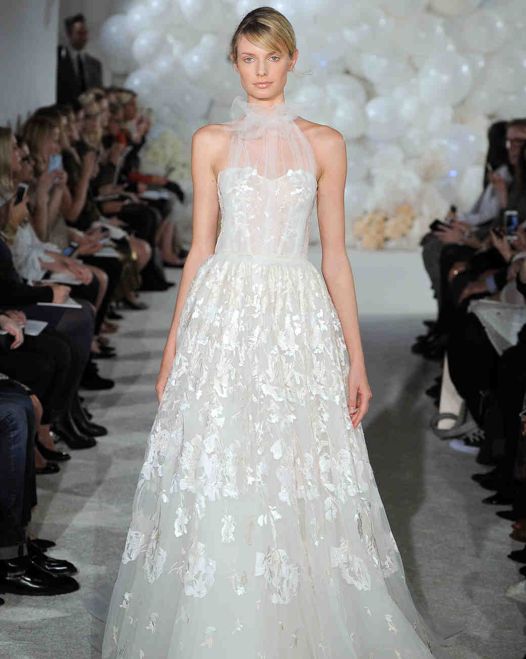 mira zwillinger wedding dress spring 2018 halter a-line