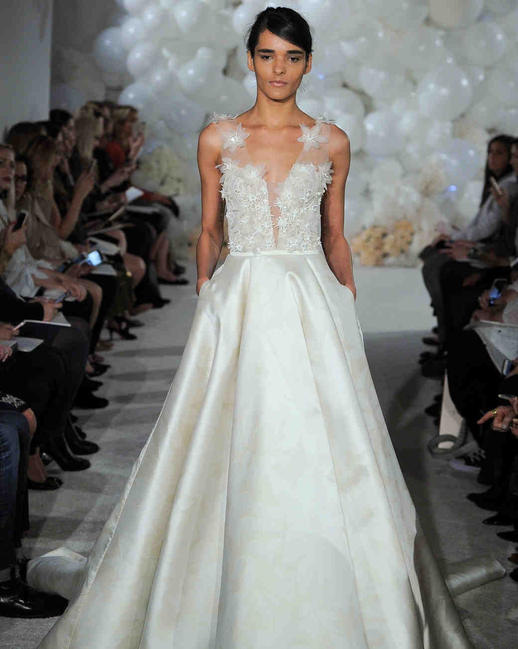 mira zwillinger wedding dress spring 2018 v-neck