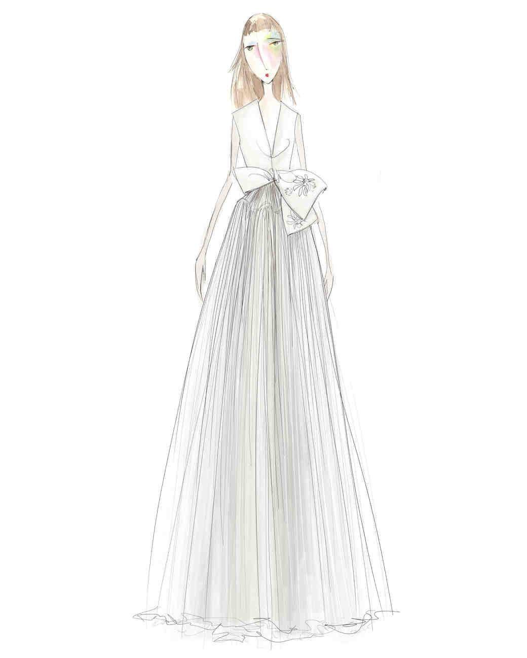 exclusive first look moda operandi tiffany u cous bridal capsule collection martha stewart weddings