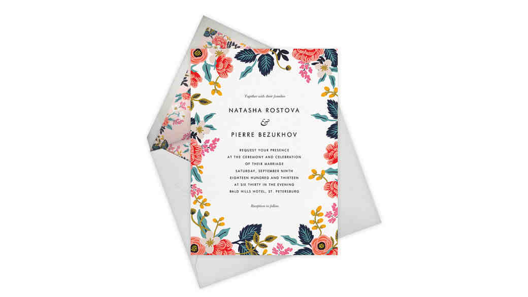 Must See: Check Out Rifle Paper Co.'s New Paperless Post Collection!