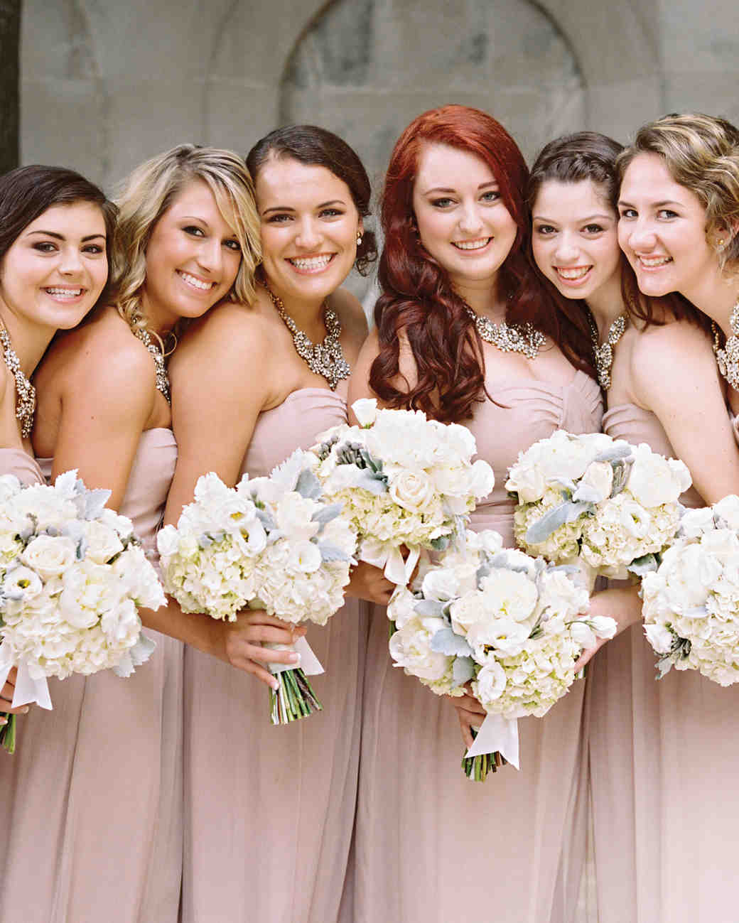elizabeth-cody-real-wedding-bridesmaids-pink-dresses-bouquets.jpg