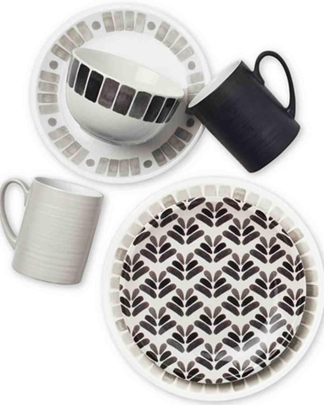 printed dinnerware