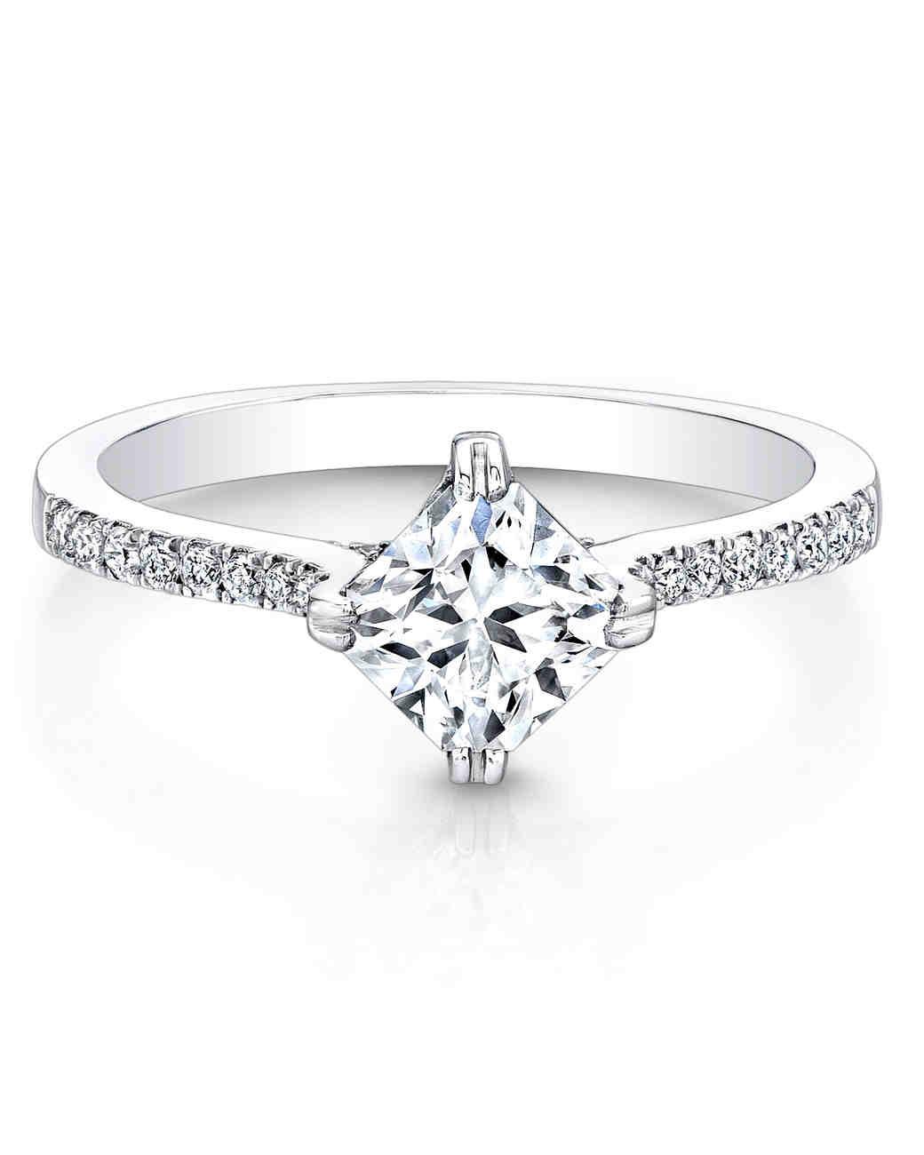 Forevermark Princess-Cut Engagement Ring