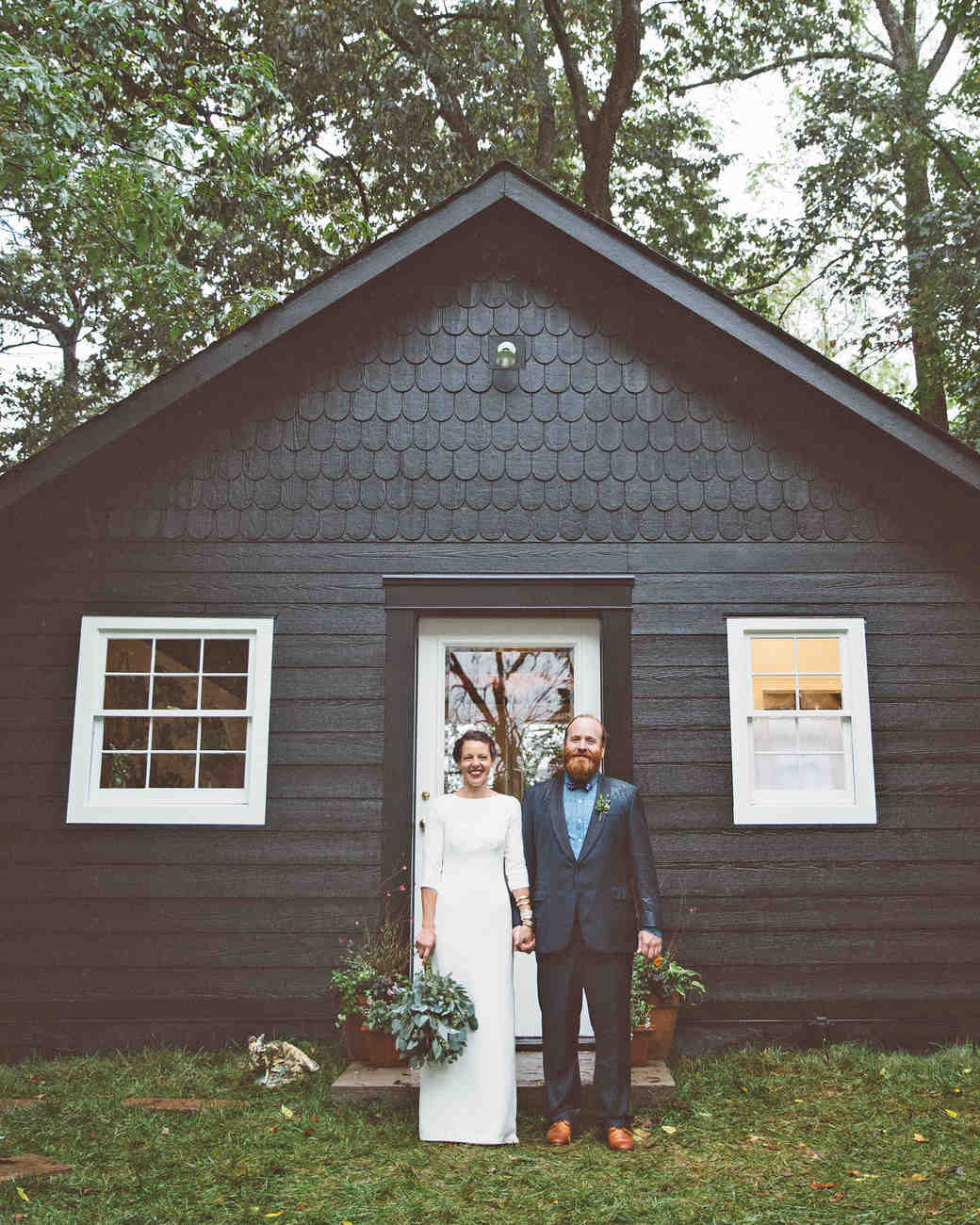 jessie tristan wedding tennessee bride groom cottage