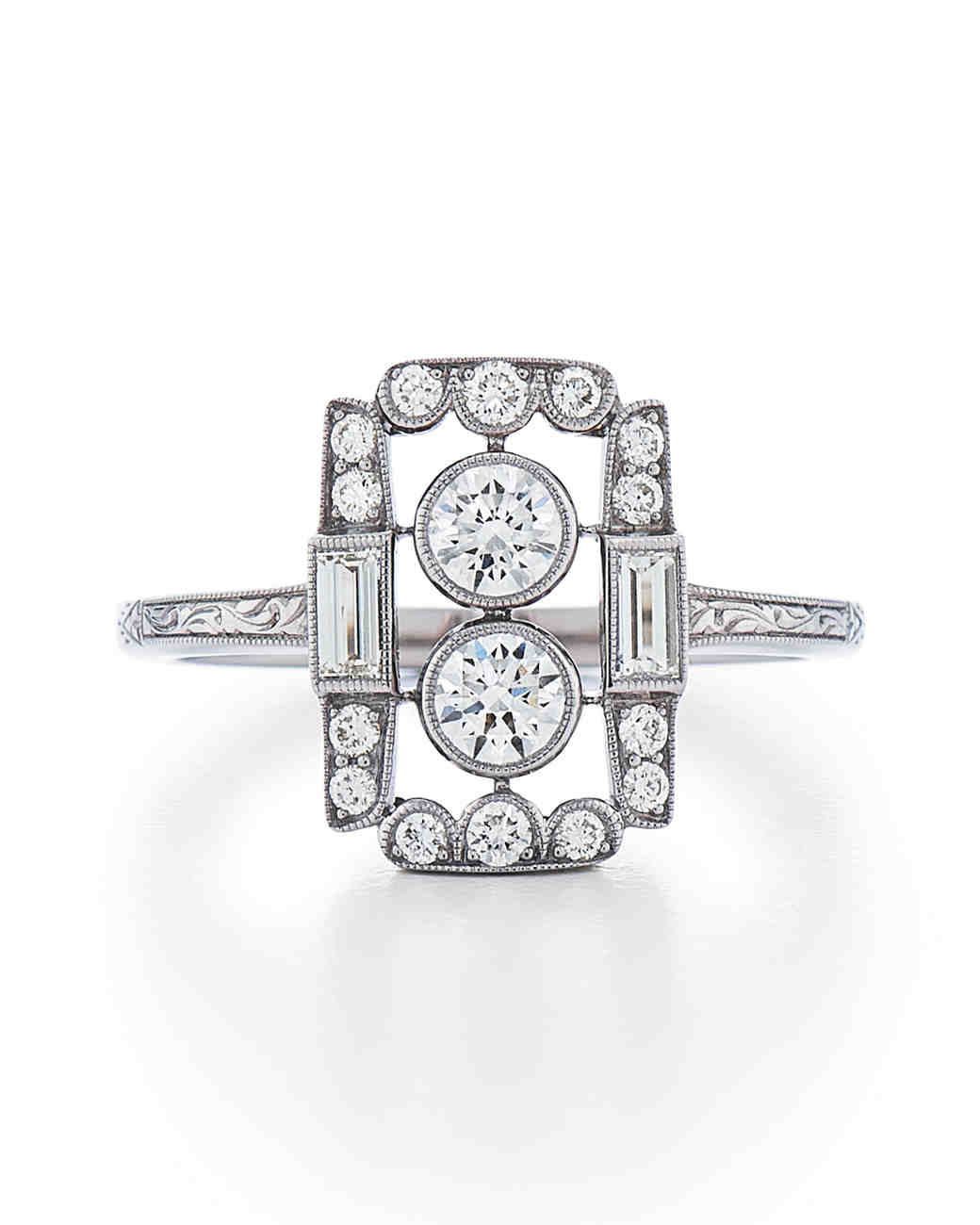 Kwiat White Gold Engagement Ring