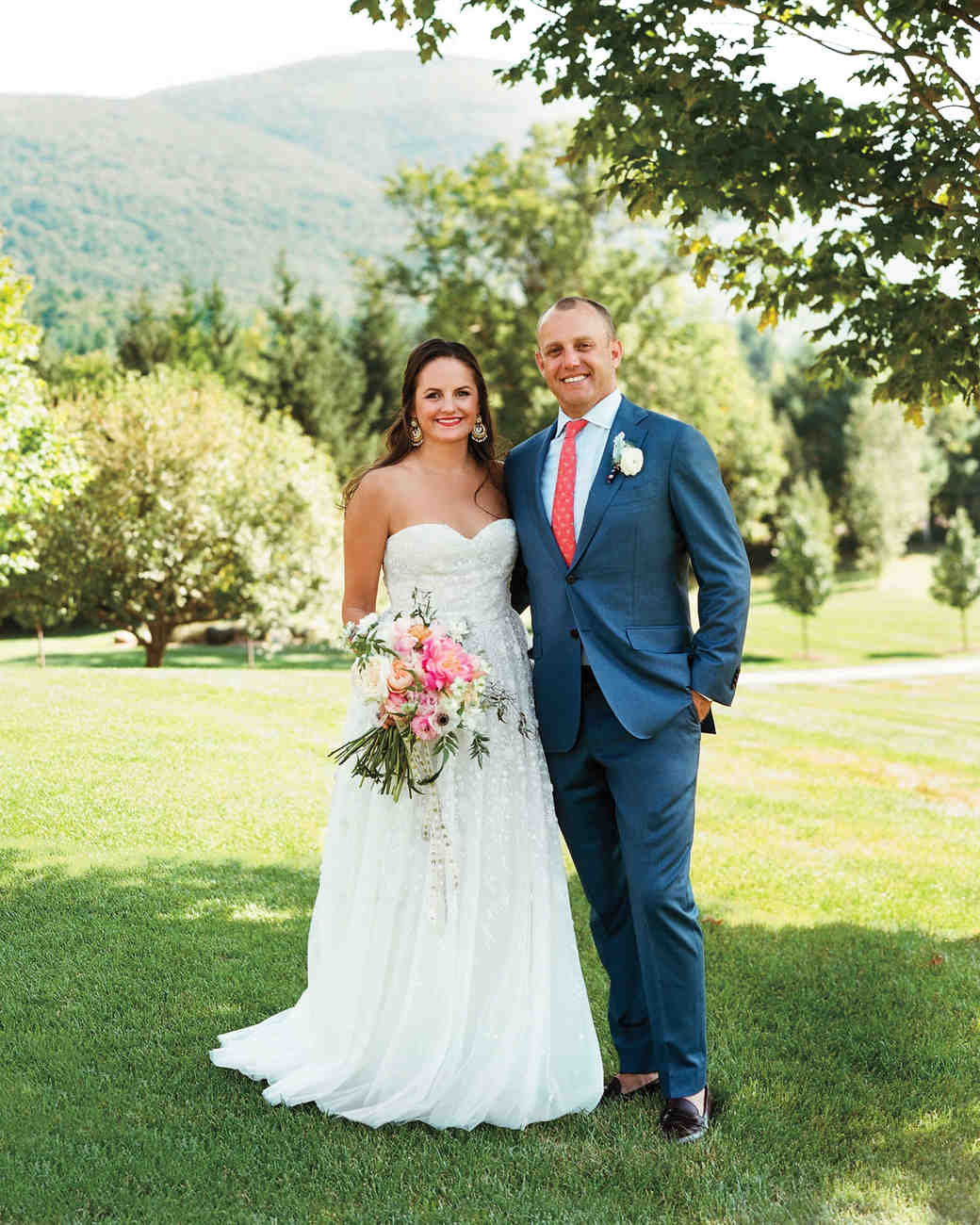 A Globally-Inspired Eclectic Vermont Wedding