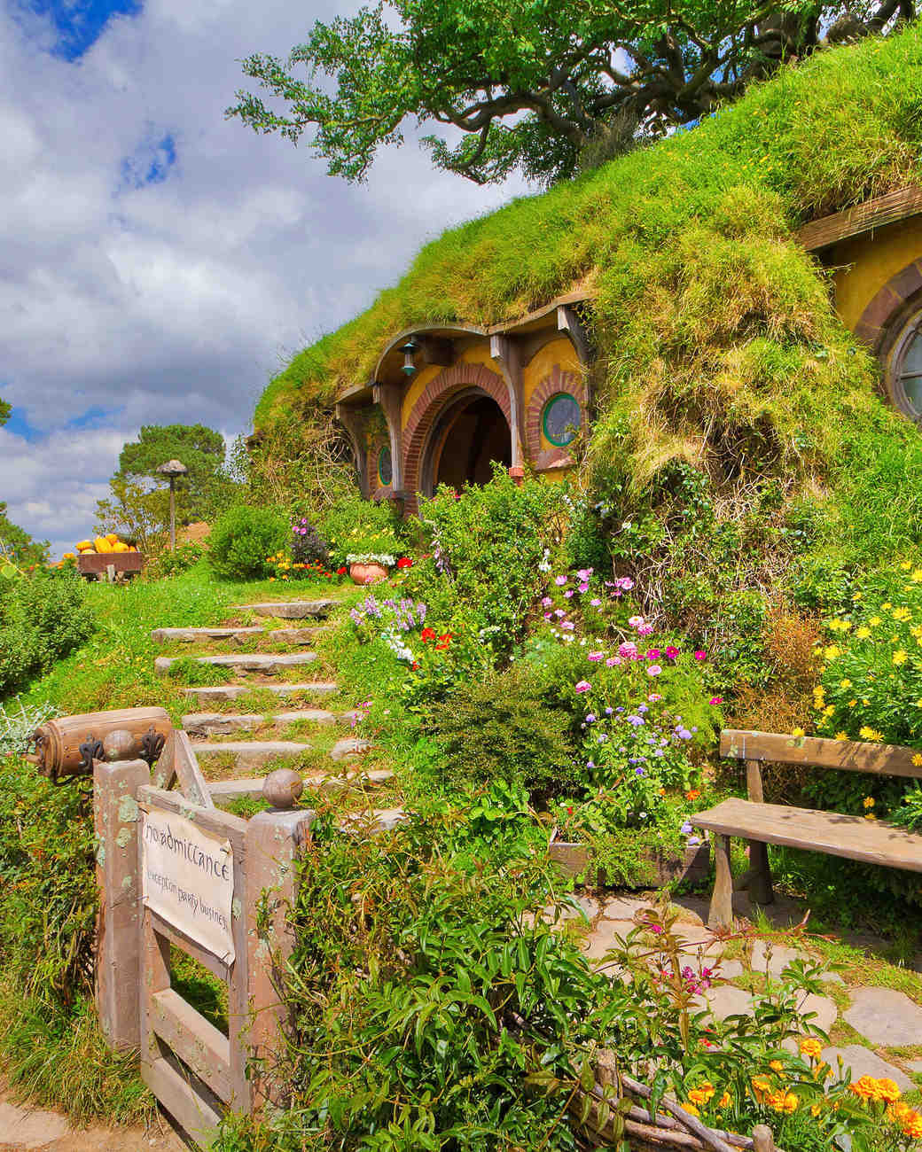 new zealand matamata hobbiton movie set