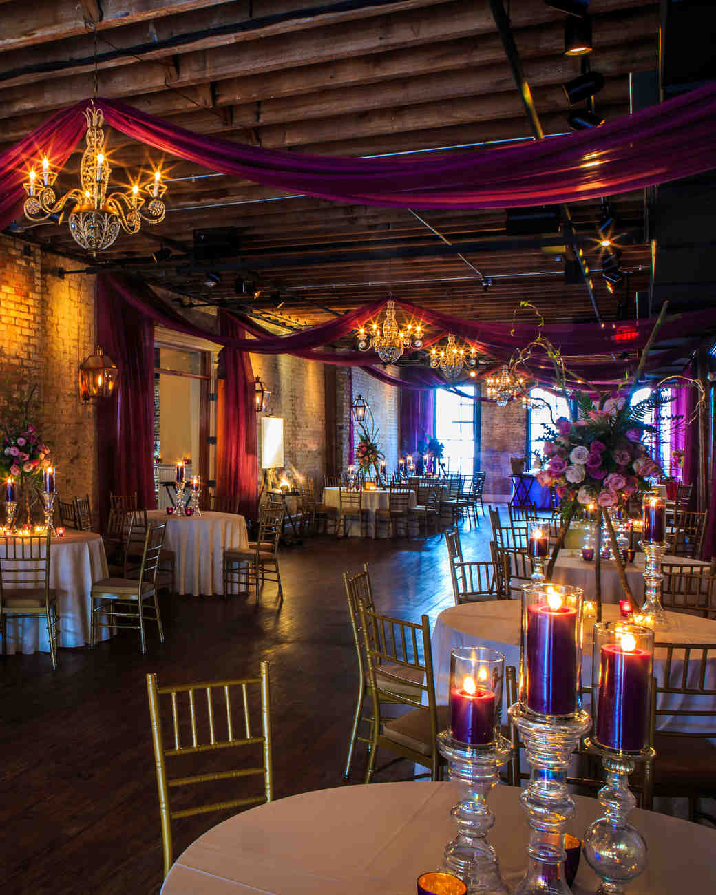 Venue Decorations: Restored Warehouses Where You Can Tie The Knot