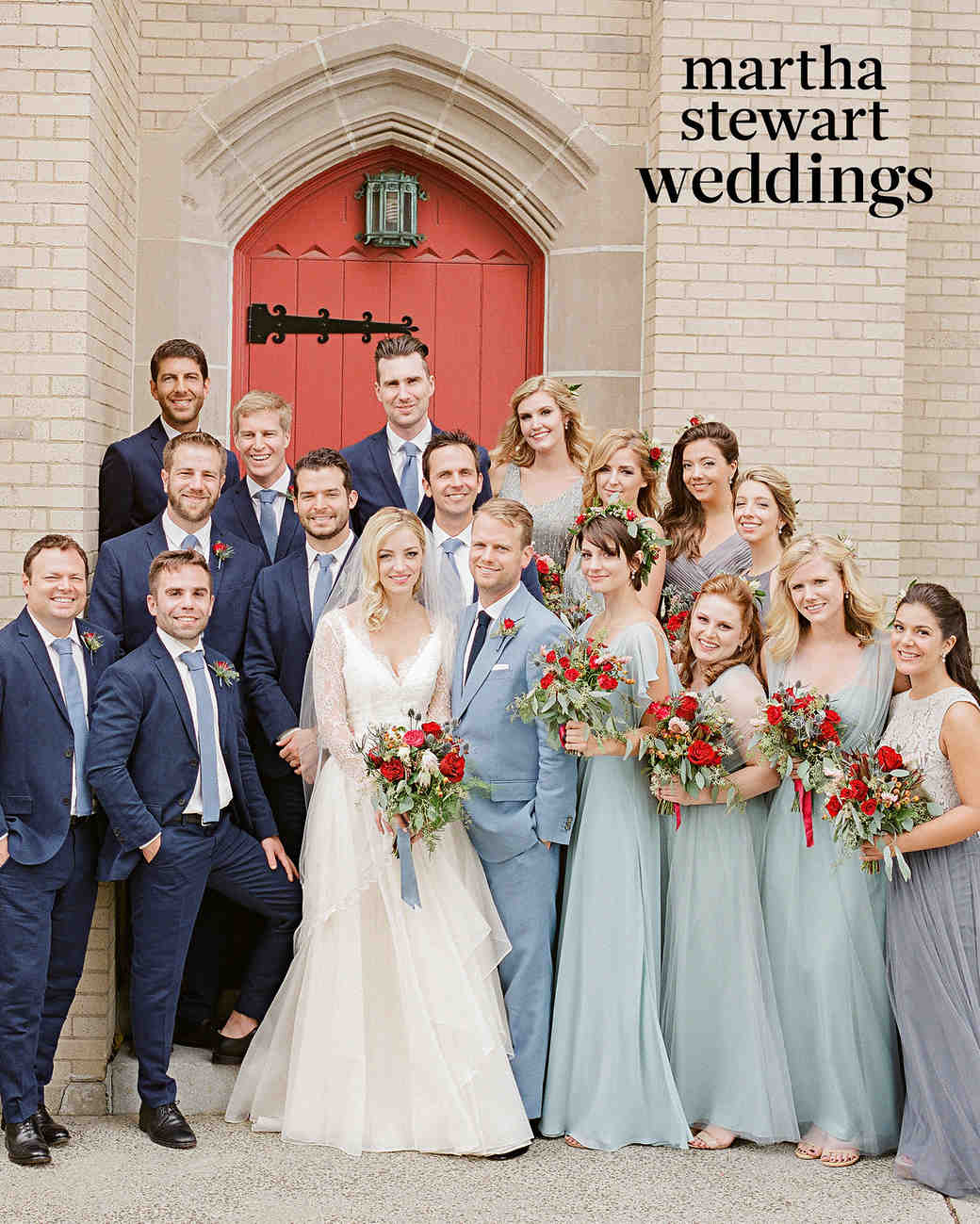 abby elliott bill kennedy wedding bridal party